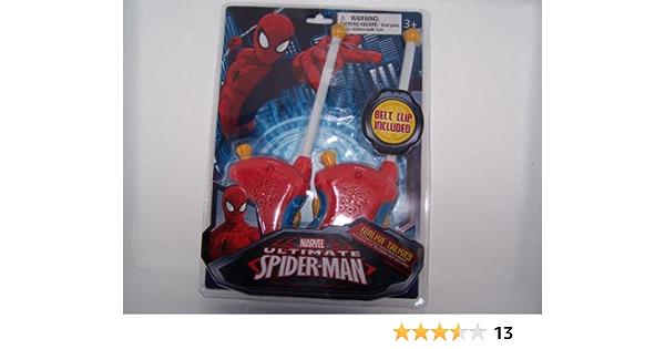 Ultimate Spider-Man Web Slinger Walkie Talkies Marvel Comics Brand New