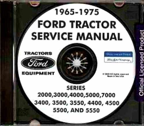 - FULLY ILLUSTRATED 1965 1966 1967 1968 1969 1970 1971 1972 1973 1974 1975 FORD TRACTOR REPAIR SHOP MANUAL CD SERIES 2000, 3000, 4000, 5000, 7000