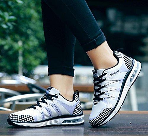 Hombre Confort Cómodos de Primavera Size para Montar Zapatos Verano Senderismo Zapatos Amantes Running Deporte Zapatillas Malla Zapatos de EU Otoño Informal de de de Mujer Ligeros New de t6Yw1n