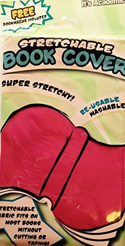 UPC 637230755150, Stretchable Book Covers ~ 8 x 10 (Pink)