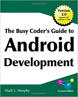 Image result for The Busy Coder's Guide to Android Development