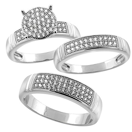 Sterling Silver Micro Pave Cub