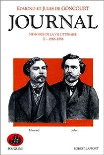 Journal des Goncourt, tome 2 par Goncourt