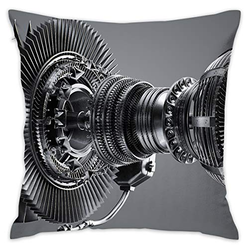 - Reteone Cool Engine Handsome Graphic Pillowcase Covers - Zippered Pillow Case Cover, Pillow Protector, Best Throw Pillow Cover - Standard Size 18x18 Inch, Double-Sided Print Pillowcases