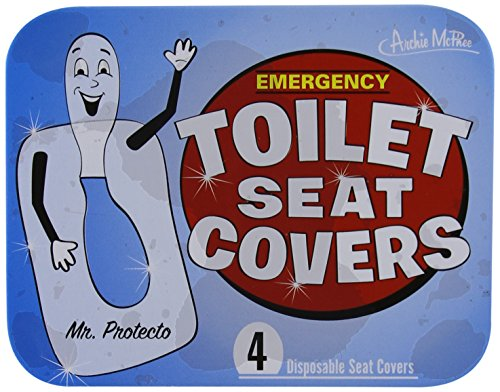 Accoutrements Emergency Toilet Seat Covers