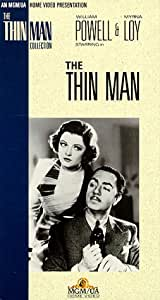 The Thin Man [VHS]