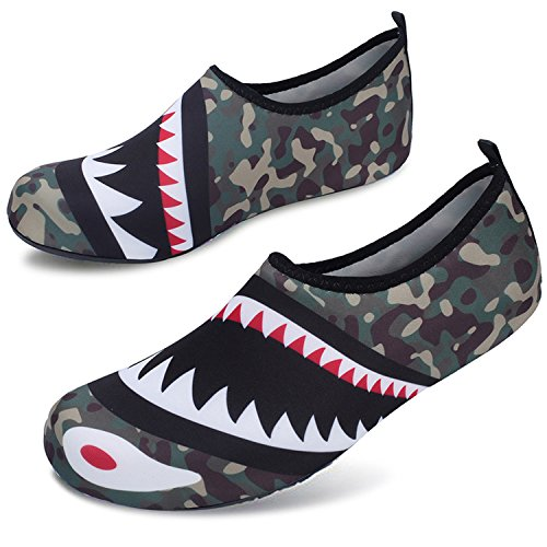 House Drying Quick Aqua Demon Water Shoes Shoes Sock Camo Womens Centipede Office Shark Mens Barefoot Footwear wxapnIqwAB