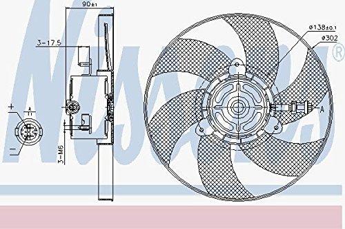 Nissens 85719 Ventilateur, refroidissement du moteur