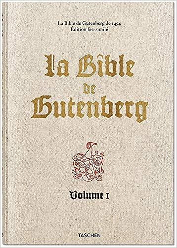 La Bible de Gutenberg de 1454