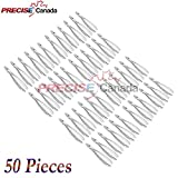 PRECISE CANADA: SET OF 50 DENTAL EXTRACTING FORCEPS #MD1 DENTAL EXTRACTION INSTRUMENTS