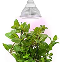 3-Pk Sandalwood 12W LED Plant Light for Hydroponic Garden & Greenhouse Deals