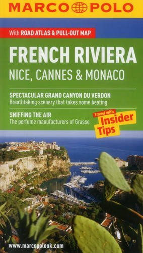 French Riviera Nice, Cannes and Monaco Marco Polo Guide (Marco Polo Guides)
