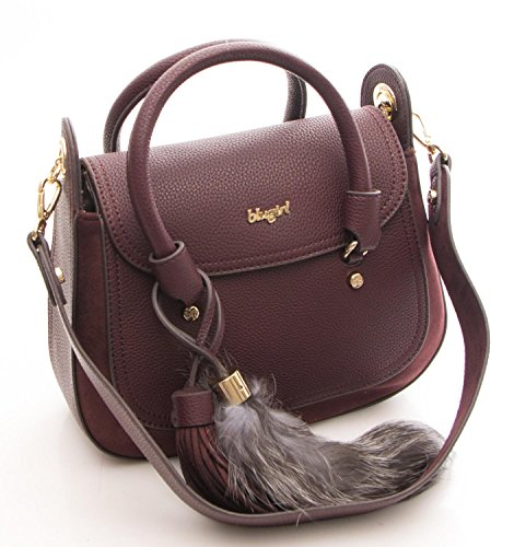 BLUGIRL Borsa Donna Roxie Double Handle w/Flap rosso