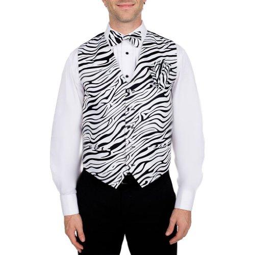 Zebra Print Vest - 3