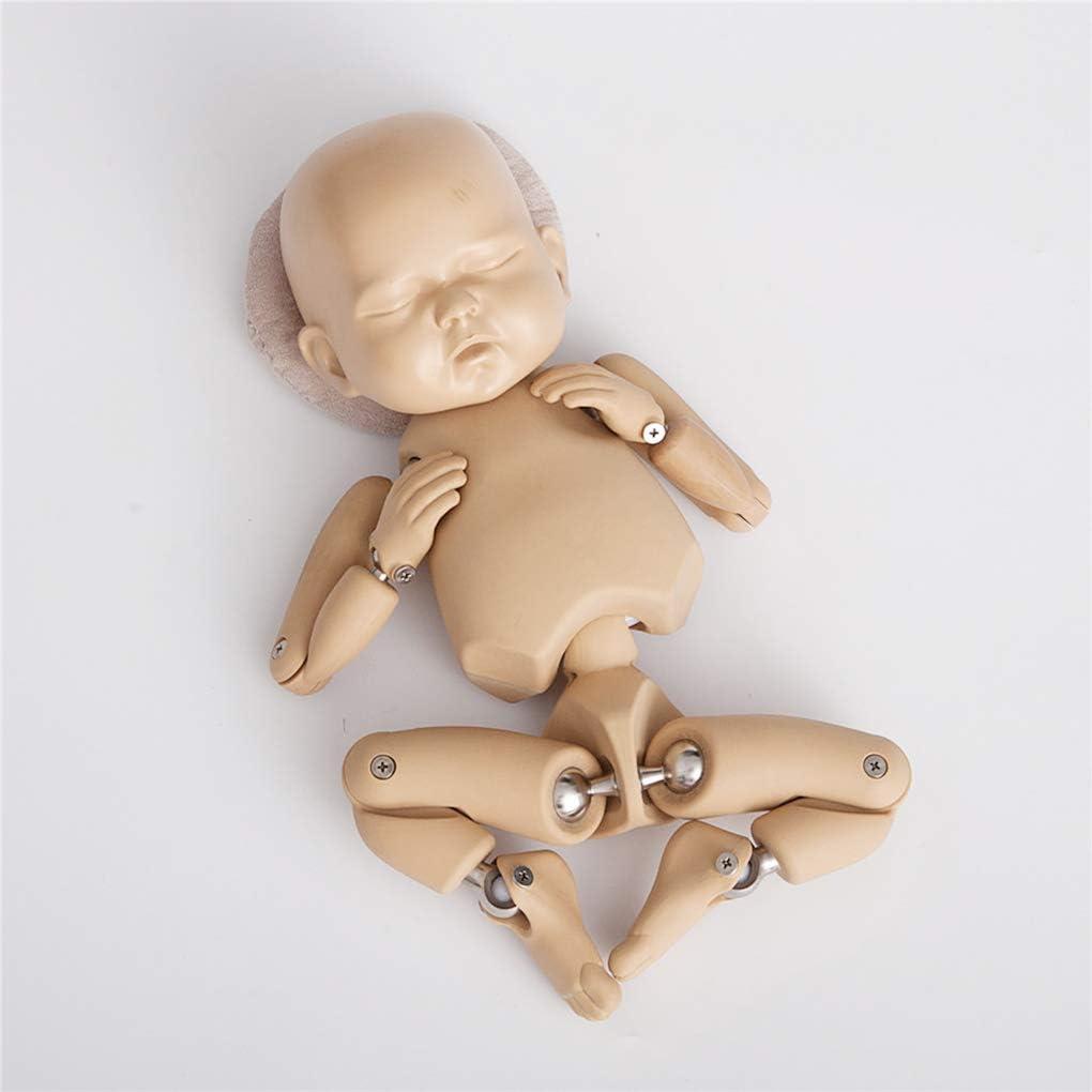 Bomcomi 2PCS//Set Newborn Photography Props Posing Support Pillow Baby Boy Girl Photo Shoot Studio Round Head Poser Prop