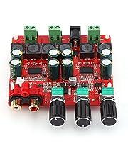 Hilitand 2.1 Amplificador de Potencia estéreo Digital subwoofer de Canal Junta DC 12V-26V Receptor de Audio con Chip TPA3118