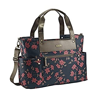 JJ Cole Arrington Diaper Bag, Navy Floral