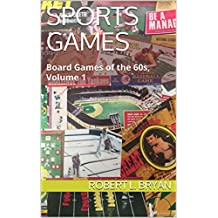 Sports Games: Board Games of the 60s, Volume 1