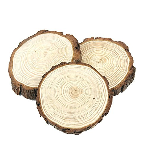 40pcs 1.9-2.4 Natural Wood Slices with Holes Craft Wood kit Unfinished Predrilled Wooden Circles Great for Arts and Crafts Christmas Ornaments DIY Crafts … B07FFS6VQ3 (4.7-5.5)