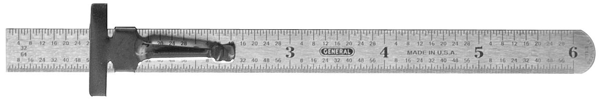 General Tools 300/3 6 inch Flex Precision Stainless Steel Rule (3 Pack)