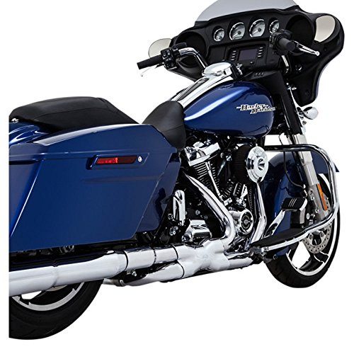 Vance And Hines Exhaust For Harley Davidson - Vance & Hines 16871 Chrome Power Duals for 2017-Newer Harley-Davidson M8 Touring Models