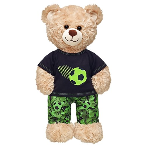 Build a Bear Workshop Camo Soccer Outfit 2 (Boy Build A Bear)