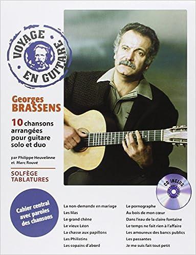 Amazonfr Voyage En Guitare Georges Brassens Georges Brassens
