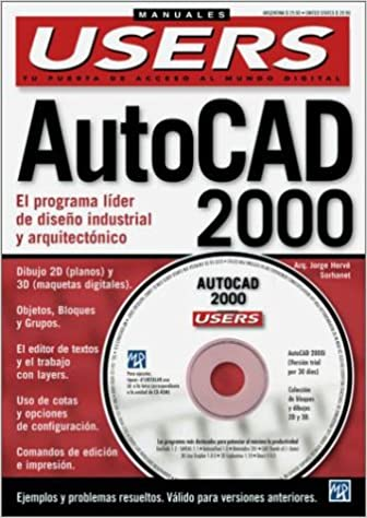 Amazon.com: AutoCAD 2000 Manual completo del Usuario con CD ...