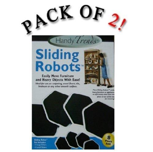 Handy Trends Sliding Robots Furniture Movers - 16 Piece Set (Sliding Robots compare prices)