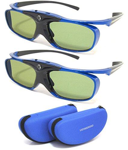 2 Stück 3D Brillen VIDIMENSIO® DLP Pro [7G] 2016 -