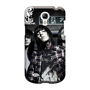 Best Cell-phone Hard Cover For Samsung Galaxy S4 Mini With Allow Personal Design HD Bring Me The Horizon Band Bmth Pictures LavernaCooney