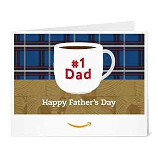 Amazon Gift Card - Print - no.1 Dad (Father's Day) (B01EO0NIDW) | Amazon price tracker / tracking, Amazon price history charts, Amazon price watches, Amazon price drop alerts