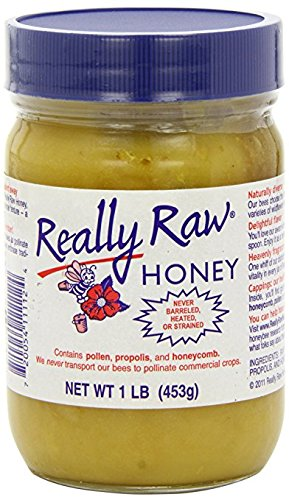 Really Raw Honey, Honey, 4Pack (1 lb (453 g) Each) Qdfkfc
