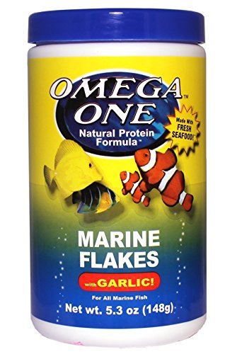 Picture of Omega One Garlic Marine Flakes 5.3oz.