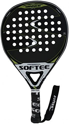 Softee Equipment 0013866 Pala Winner Mate Verde de Pádel, Blanco ...