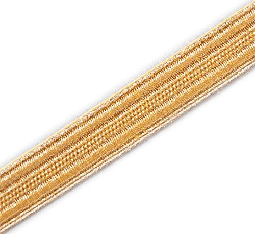 (5 Yards Gold Military Braid. Pilot Galon Uniform Army Navy Vestment Trim ½