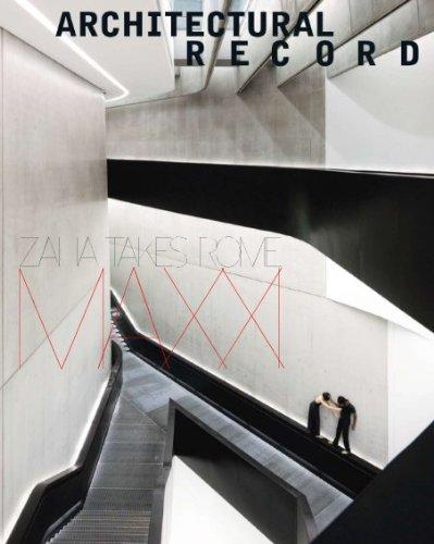 Architectural Record Print Magazine