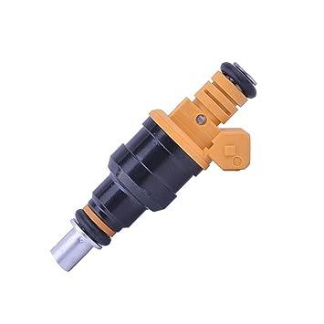 4 x Inyector de Combustible 0280150747 para Astra Calibra Cavalier frontera para manta Monza Senador Kadett c20ne boquilla Inyección Inyector Motor del ...