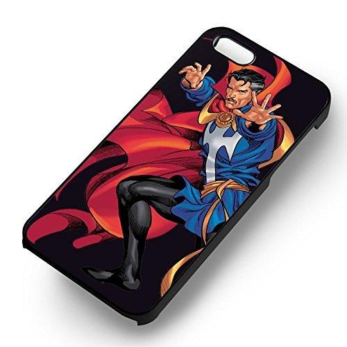 Doctor Strange Marvel pour Coque Iphone 6 et Coque Iphone 6s Case (Noir Boîtier en plastique dur) V4H5QS