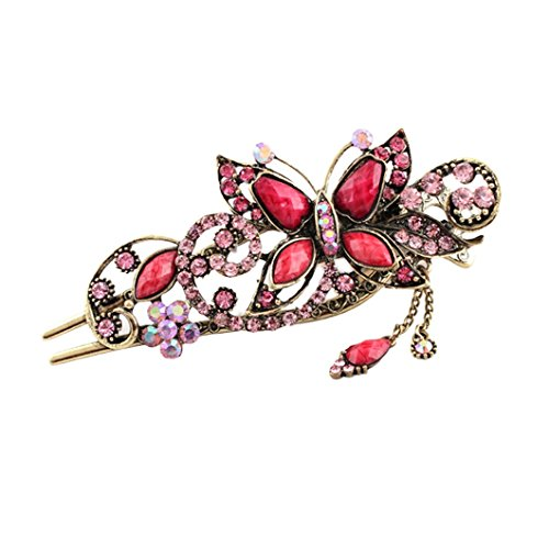 DZT1968 Butterfly Hairpin Headdress Accessories product image
