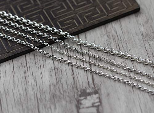 Sterling Silver Womens 1mm Box Chain Green Man Leaf Pendant Necklace