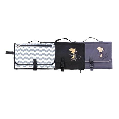 Cambiador portátil de bebé y bolso pequeño Cornasee, ligero,