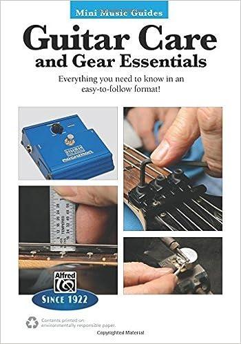 Book Mini Music Guides -- Guitar Repair & Maintenance by John Carruthers (2014-01-01)