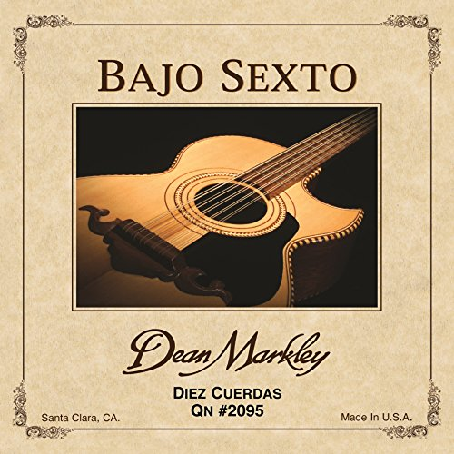 Dean Markley 2095 - Bajo Sexto QN Diez Cuerda Guitar Strings, (Bajo Sexto Guitar String)