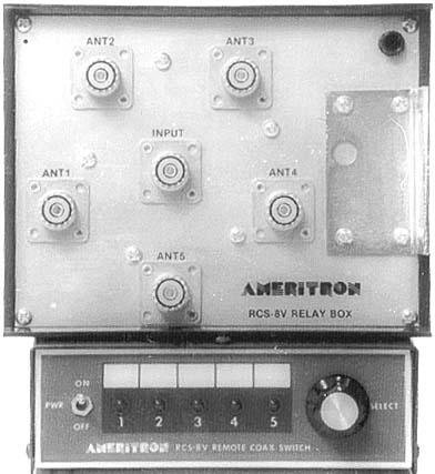 RCS-8V RCS-8 Original Ameritron 5 Position Remote Coax Antenna Switch by Ameritron (Image #1)