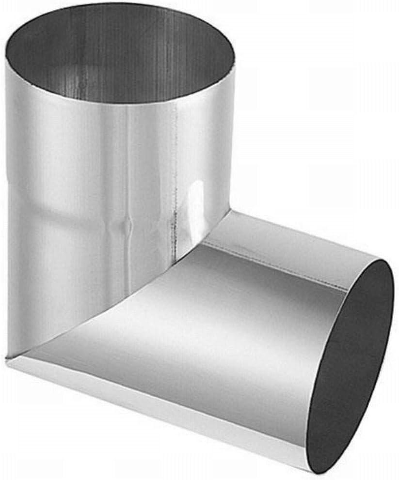 Rohrwinkel 87/° Titanzink in den Gr/ö/ßen 60 87 und 100 mm 80 60 mm 76