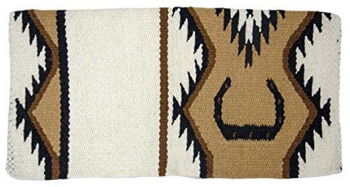 seshoe Hand Woven Wool Western Saddle Blankets - Size 34
