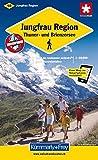 Jungfrau-Region 1 : 60 000. Wanderkarte. Thuner- und Brienzersee (Kümmerly+Frey Wanderkarten)