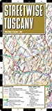 img - for Streetwise Tuscany Map - Laminated Road Map of Tuscany, Italy - Folding pocket size travel map book / textbook / text book