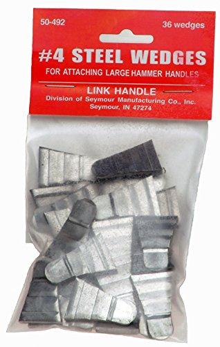 Sledge & Maul Steel Wedges (Pack of 36)